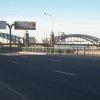 Большеохтинский мост в Санкт Петербурге