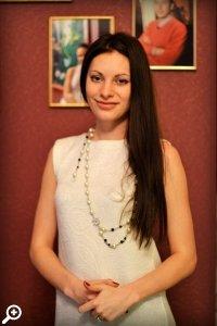 Исполнительница главной женской роли Анна Канарис