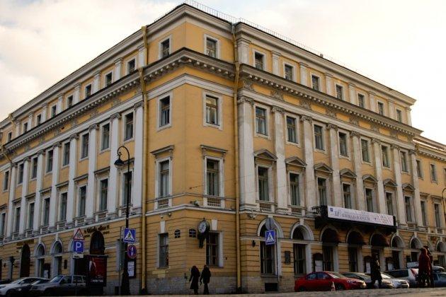 Большой и малый залы академической филармонии им Дмитрия Шостаковича в Санкт Пет