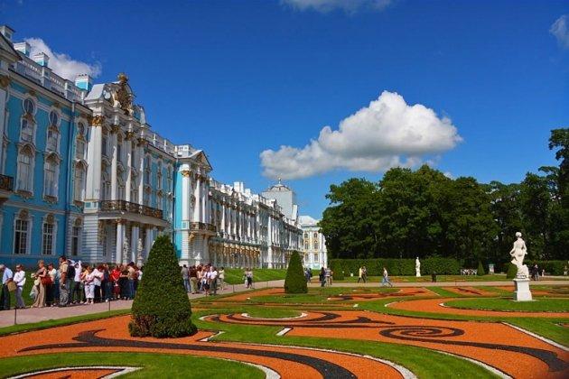 Екатерининский дворец Пушкин