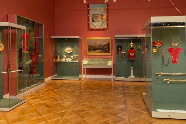Эрмитаж открыл постоянную экспозицию «Музей русской гвардии»