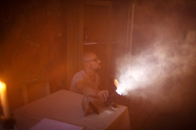 Съемки клина на песню петербургской певицы Жени Любич «Пожар»