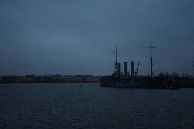 Крейсер Аврора в Санкт Петербурге