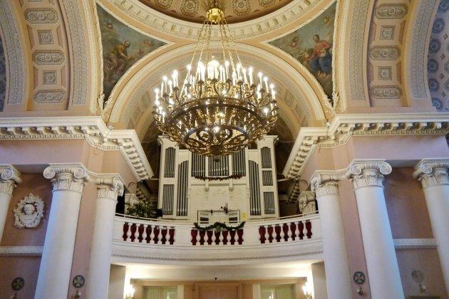 Органный концерт «Воскресный диалог виртуозов»