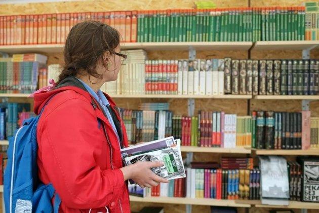 ВПетербурге раскрываются «Летние книжные аллеи» с книжками подоступным ценам