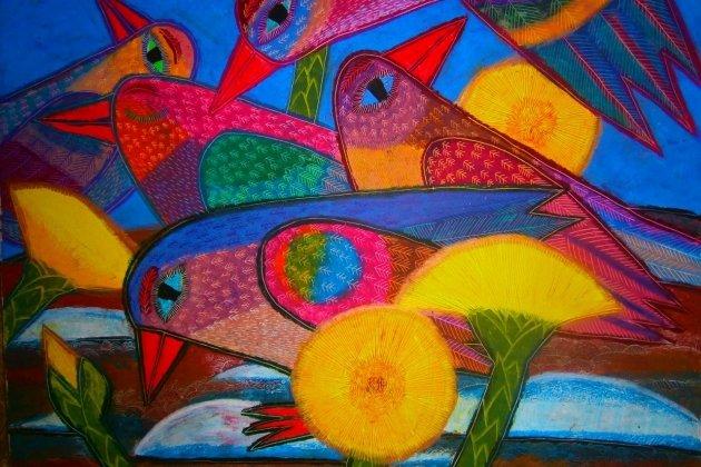Выставка «Северное направление: нашествие цвета»