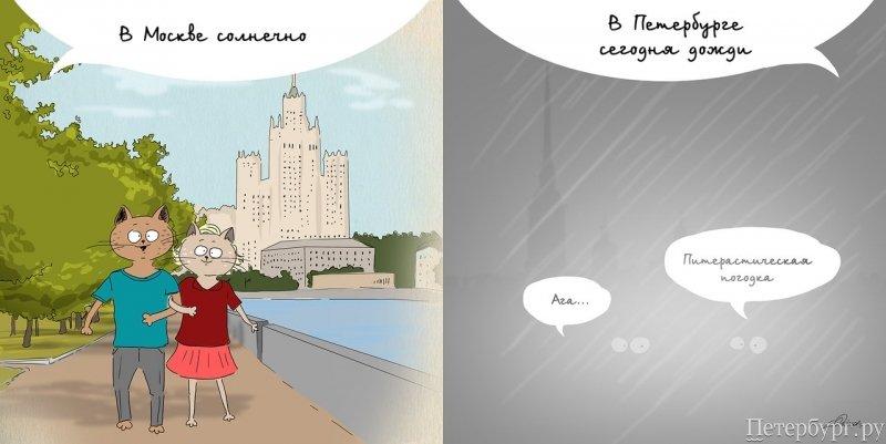 Переезд Москва – Санкт-Петербург