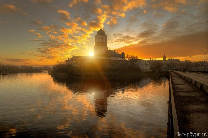 Как доехать из санкт петербурга в выборг