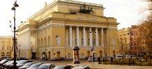 Александринский театр в Санкт Петербурге архитектора Росси