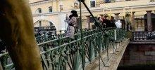 Банковский мост в питере фото