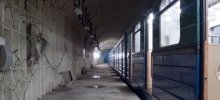 Заброшенная станция метро Дачное в Питере